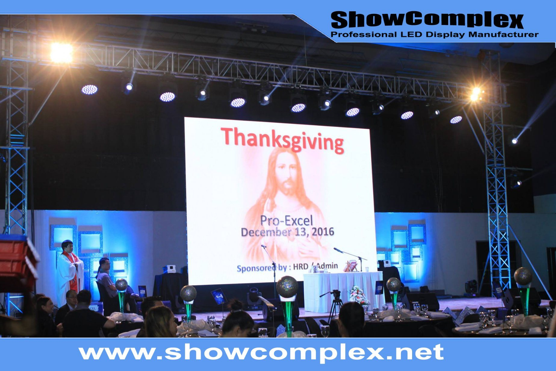 High Refresh Rate of Outdoor Full Color Rental LED Display for Conference (500mm*500mm P3.9)