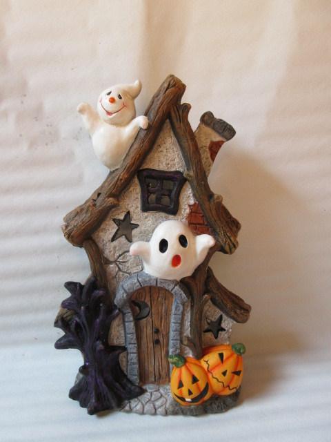 Halloween Decoration House Ceramic Crafts (LOE2268-60)