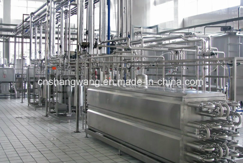 High Quality Dairy Milk Production Line/Plant