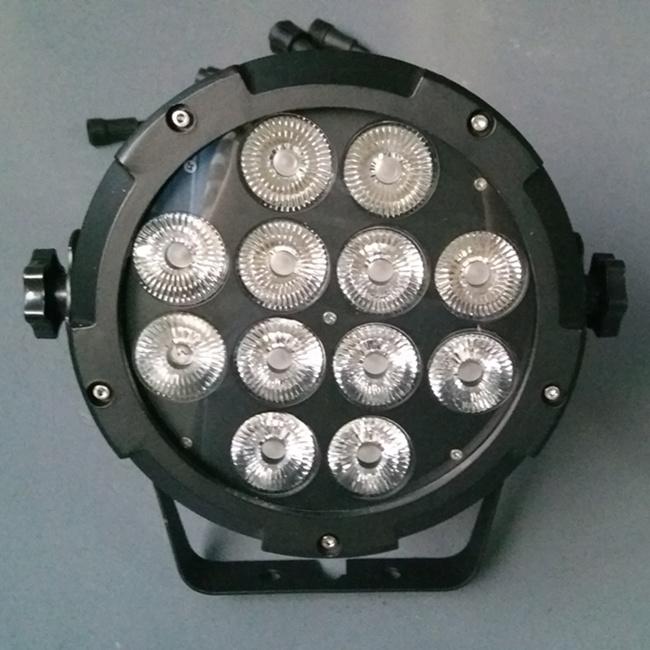 High Power 12X15W 6in1 RGBWA+UV LED PAR for Garden Lighting