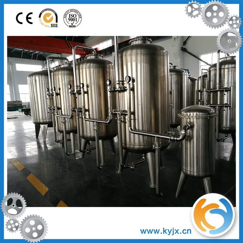 Mineral Water Hollow Filter Treatment System Purified Water Machine