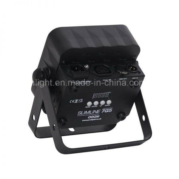 New 7X 15watt Wash LED Flat PAR Light for Wedding Lighting