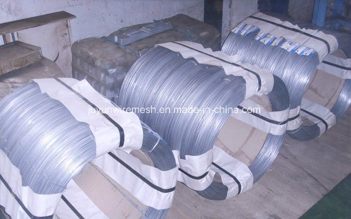 Galfan Wire/Zn-5%Al-Alloy Coating Iron Wire/Galvanized Steel Wire for Build Gabion