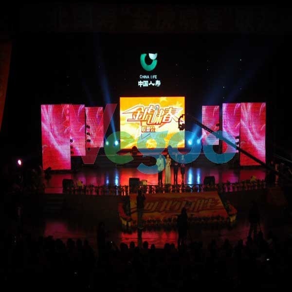 P4 HD Full Colour Indoor LED Display Screen for Rental