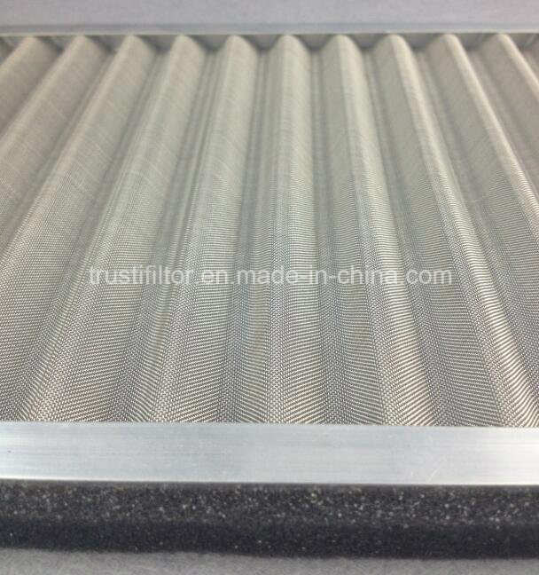 Panel Metal Mesh Stainless Steel Pre Filter