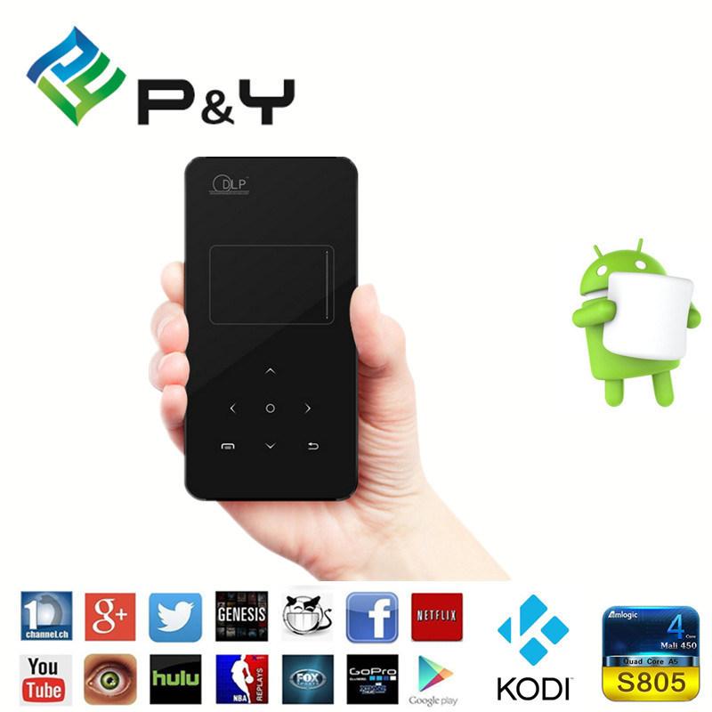 Mini Smart Projector Wireless Push Mini/ Portable/Pocket 1g 8g