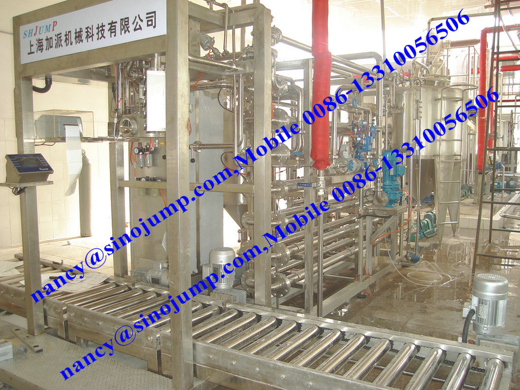Aseptic Filling Machine & Filling System for Fruit Jam and Juice.