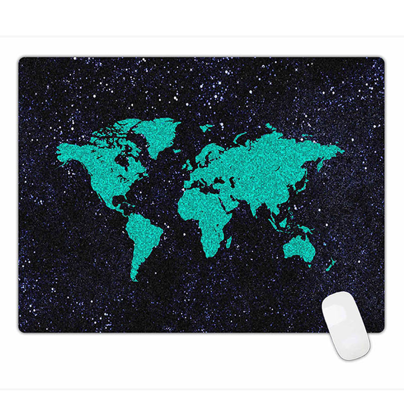 Rubber Gaming Mouse Pad Optical Laser Mouse Mats L Size 600*450*3mm