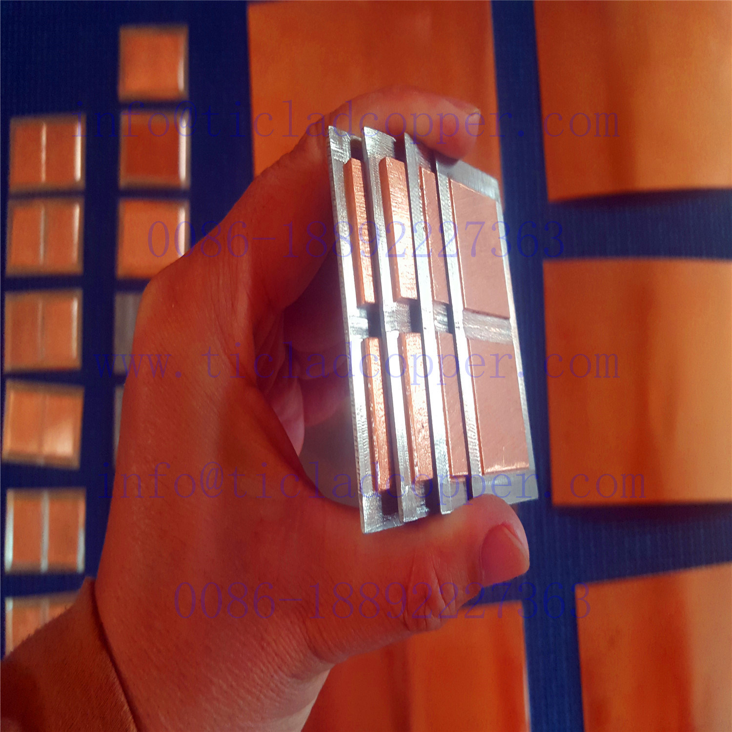 Gr 2 Titanium Clad Copper Sheet/ Plate/Coil/Foil for Electroplating