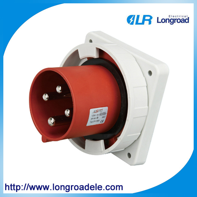 High Quality Industrial Socket/Plug IP67 4p 125A