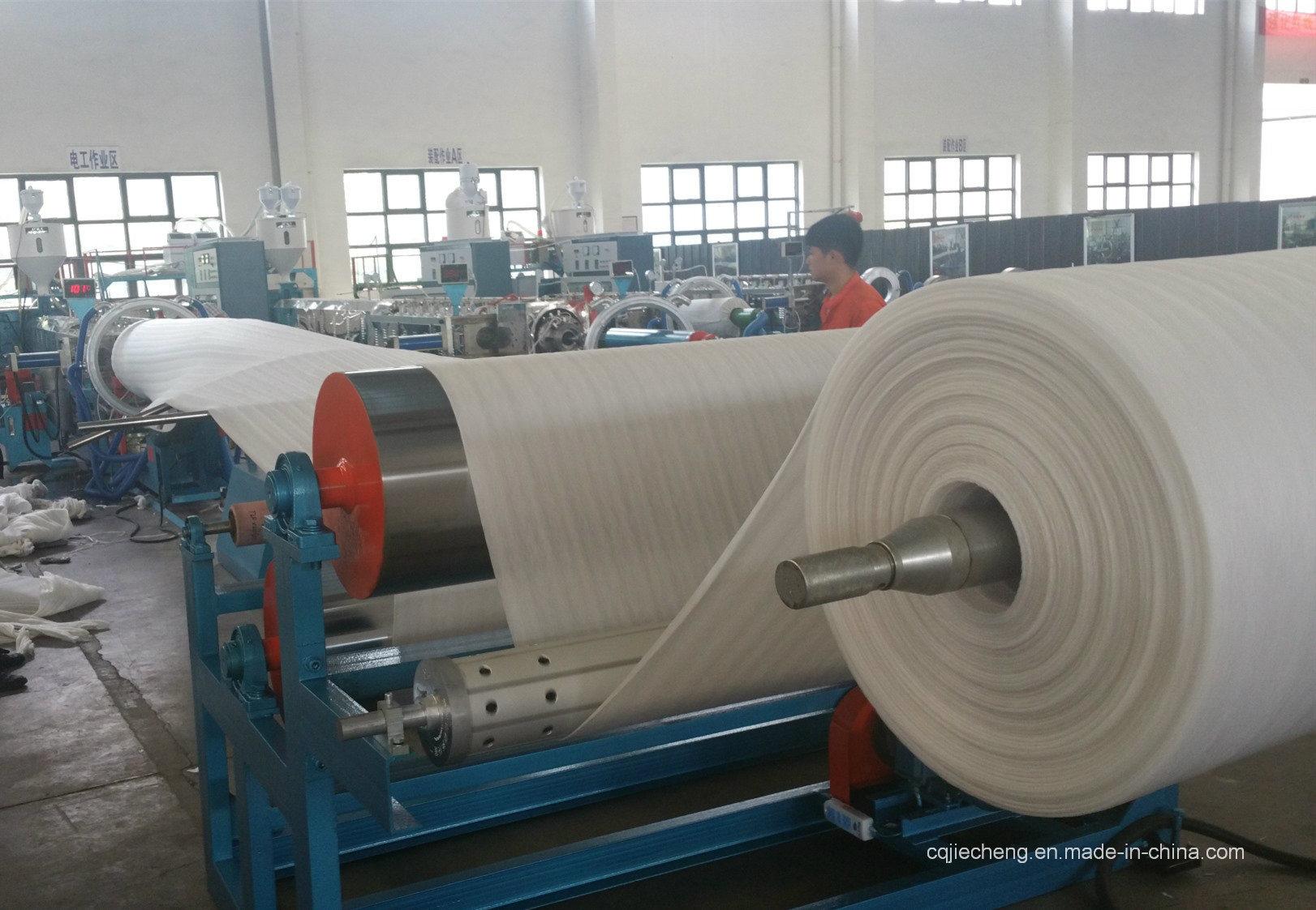 Jc-120 New EPE Foam Sheet Plastic Machine Packing Extruder PE Foam Sheet Machine Extrusion Line in India/Thailand/America