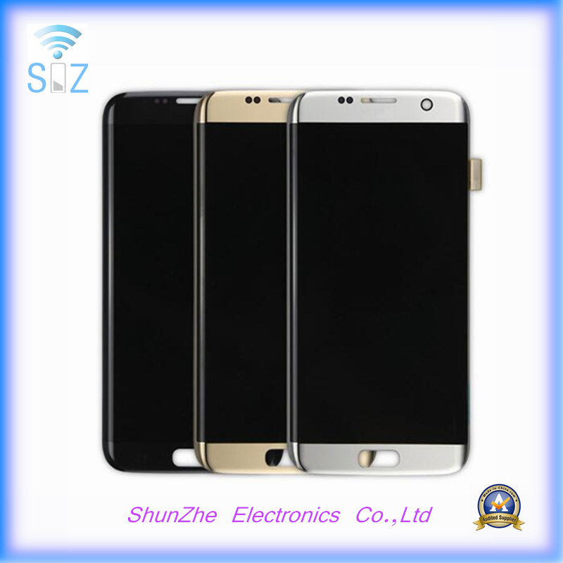 Mobile Cell Smart Phone LCD for Samsung S7 Edge Displays Assembly Screen