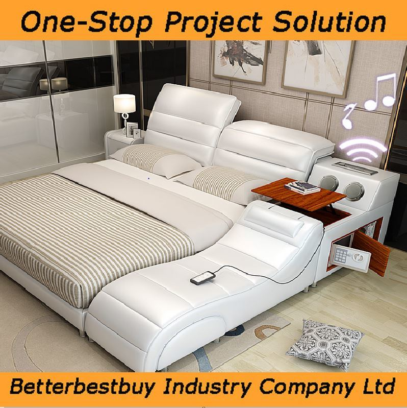 Wedding Bed Comfortable and Soft Massage Bed