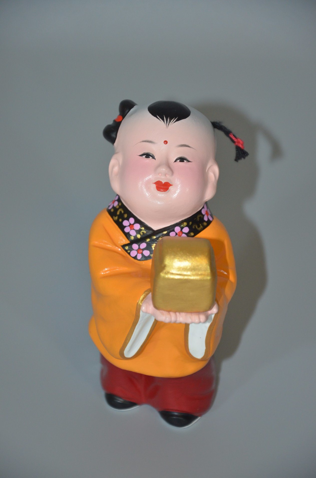 Lively Antient Chinese Baby Clay