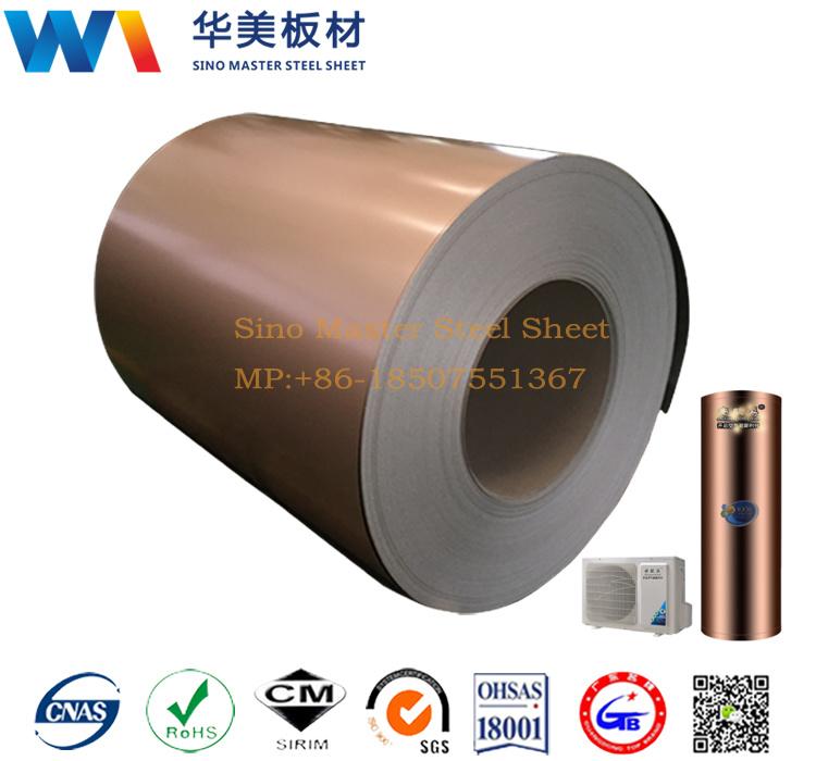 Prepainted Steel Color Coated Steel TDC51D+Z Tdc53D+Z PCM Steel Coil/Sheet PCM Steel Sheet
