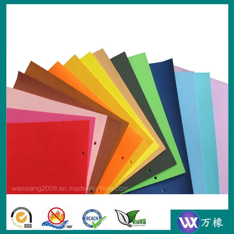 Colourful Chemical Rubber PE Foam High Density Sponge