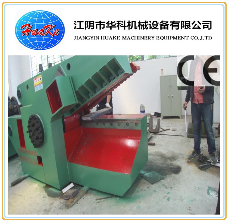 Hydraulic Steel Cutting Shredder