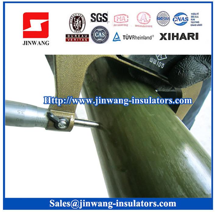 80mm-120mm Epoxy Fiberglass Core Rods for Composite Post Insulators