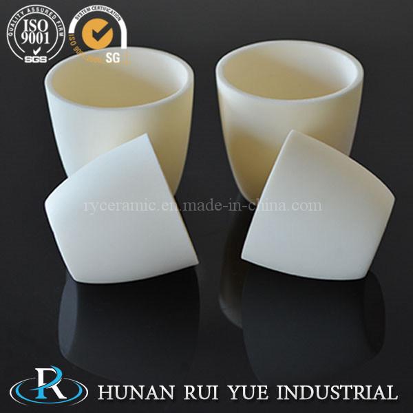 Industrial Corundum Alumina Ceramic Crucible