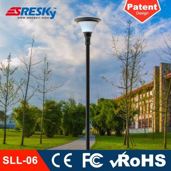 Outdoor LED Garden Veranda Solar Light Lamp for Pathway Courtyard Lighting