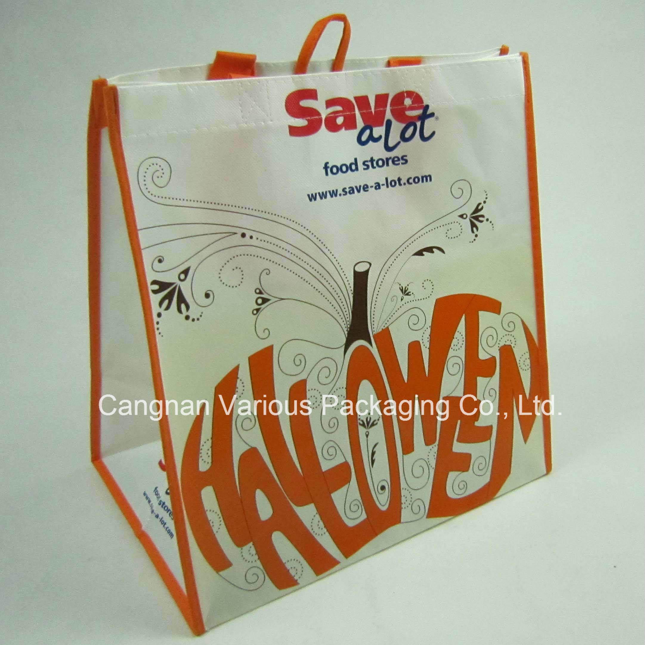 Laminated Non Woven Bag, Recycled Bag, Promotional Bag, Cnavas Bag, Cotton Tote Bag, Shopping Bag (MX-BG1065)