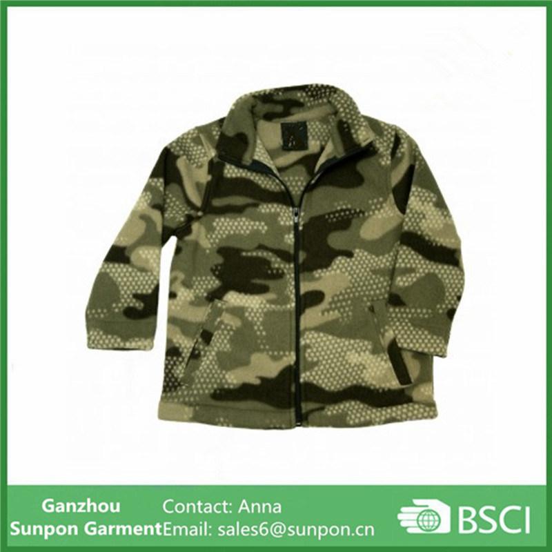 Kids Warm Fleece Wear Camouflage