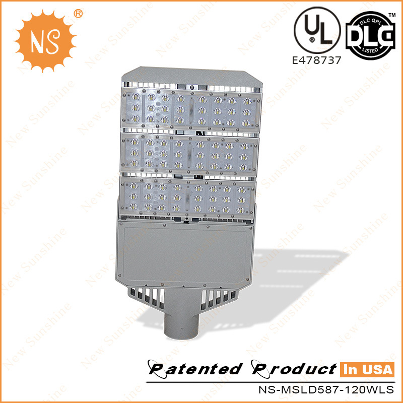 UL Dlc Lm79 120lm/W 120W LED Road Light