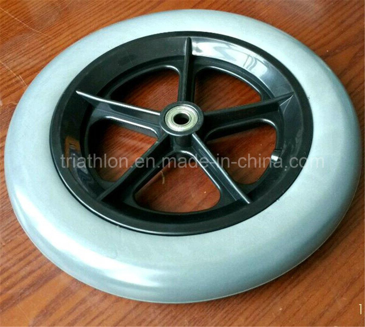 12X1.75 12X2 12X2.125 12X3 Flat Free Bicycle Wheelchair Foam Wheel