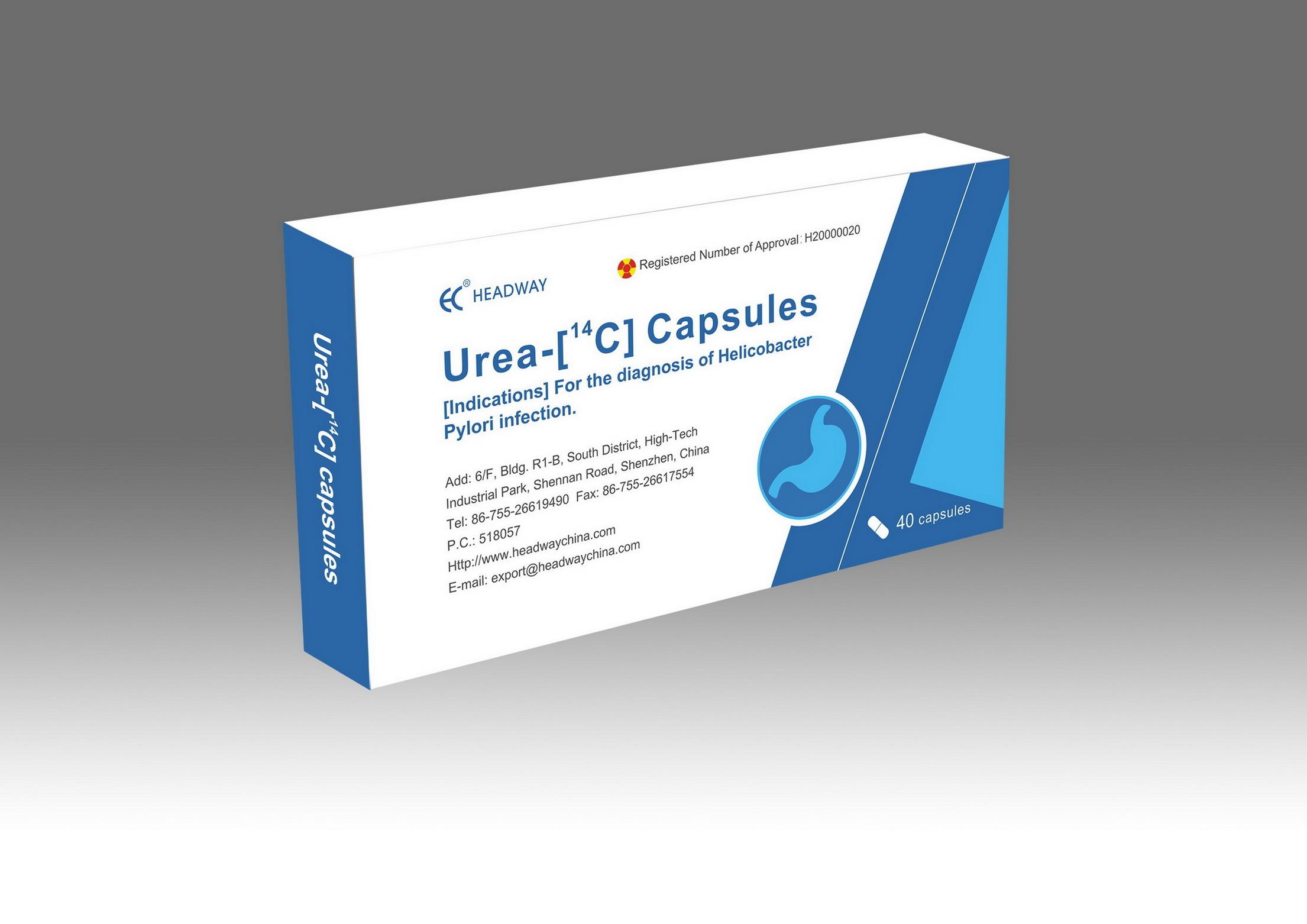 Helicobacter Pylori (H. pylori) Rapid Breath Test Kit