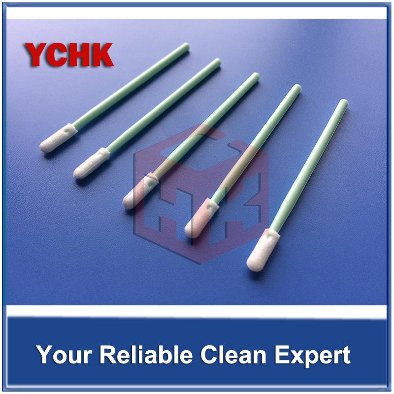 Small Head Semiconductor Use Cleanroom Foam Cleaning Swab