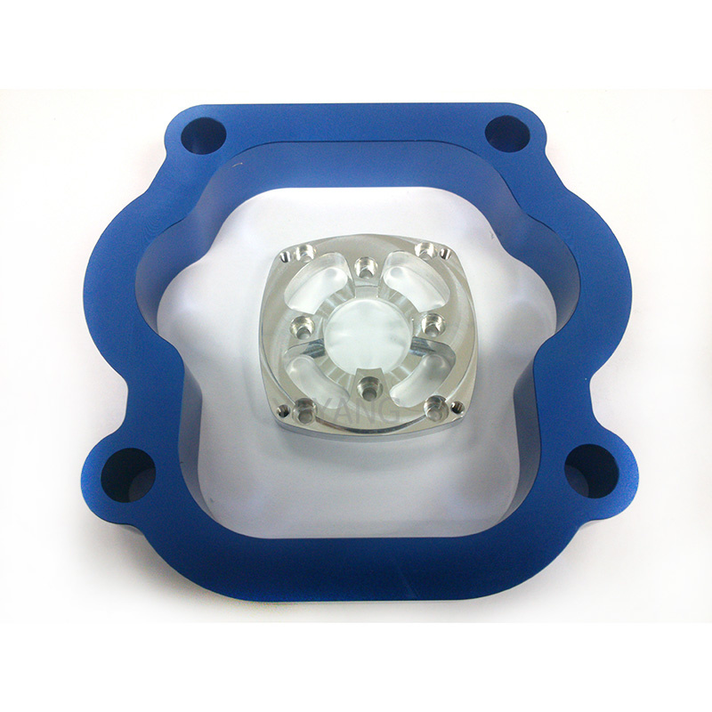 OEM Anodized Turned Aluminum Parts Fabrication Service CNC Machine Spare Parts