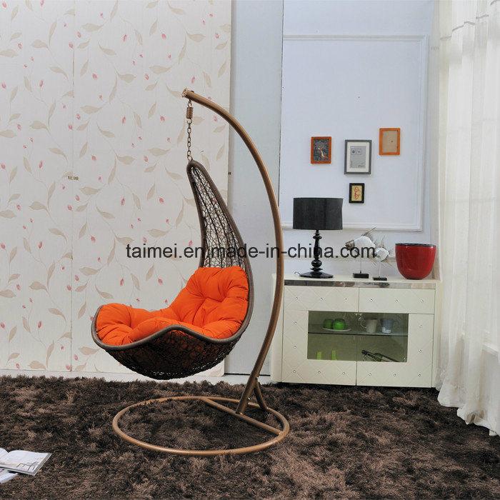 Maple Leaf Strips Swing Chair