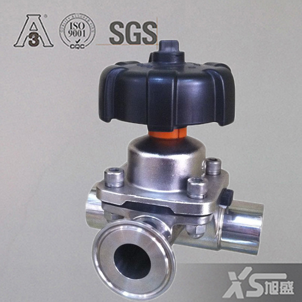 China Stainless Steel Ss316L Actuator Pneumatic Diaphragm Valves