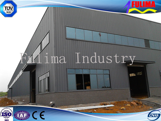Prefabricated Building Steel Structure for Workshop/Warehouse (SS-001)