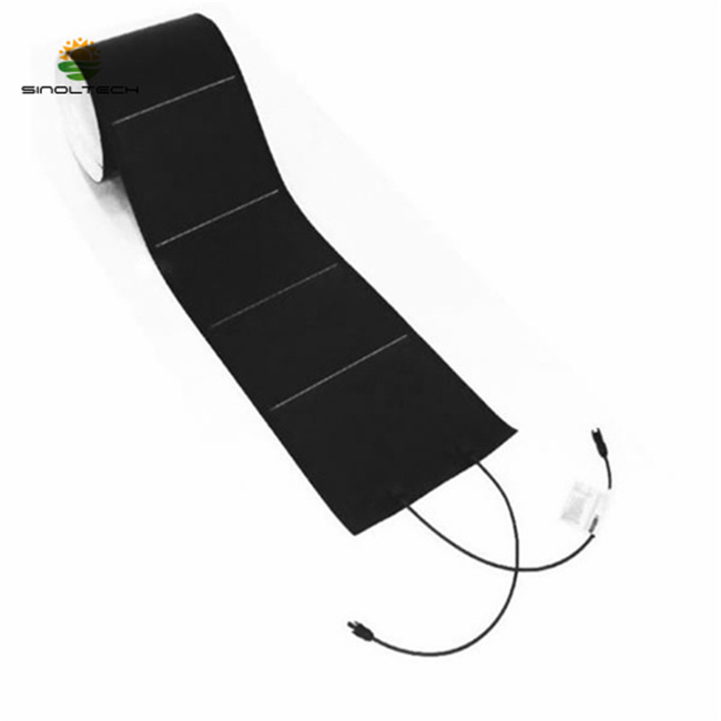 144W 24V Photovoltaic Thin Film Flexible Amorphous Solar PV Module