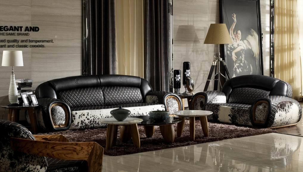 Woonkamer Set Hout : Leather Living Room Sofa Sets