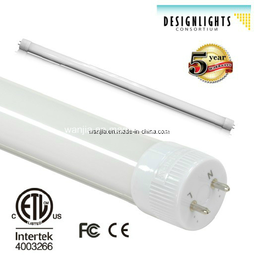 Dimmable LED T8 Tube with Dlc Listed