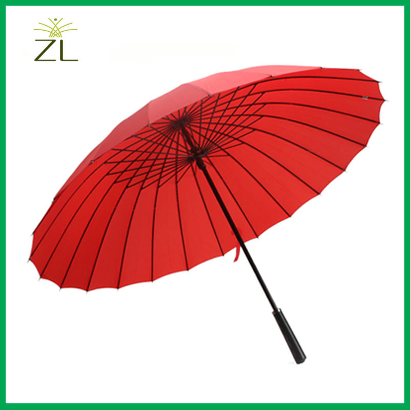 Logo Customize Promotional Cheap Rain Wholesale Straight Umbrella