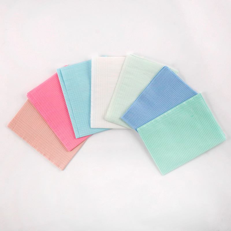 1/8 Fold Dental Patient Bib, Dental Napkin