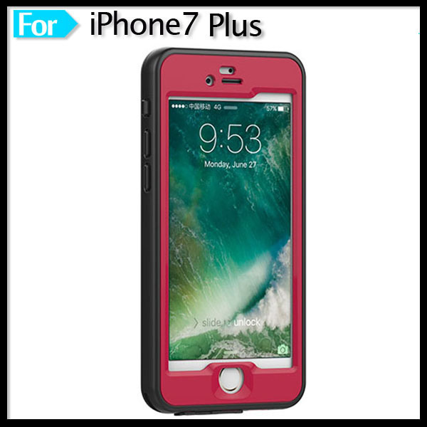 Mobile Custom Protection Waterproof Cell Phone Case for Apple iPhone 7 iPhone7 Plus