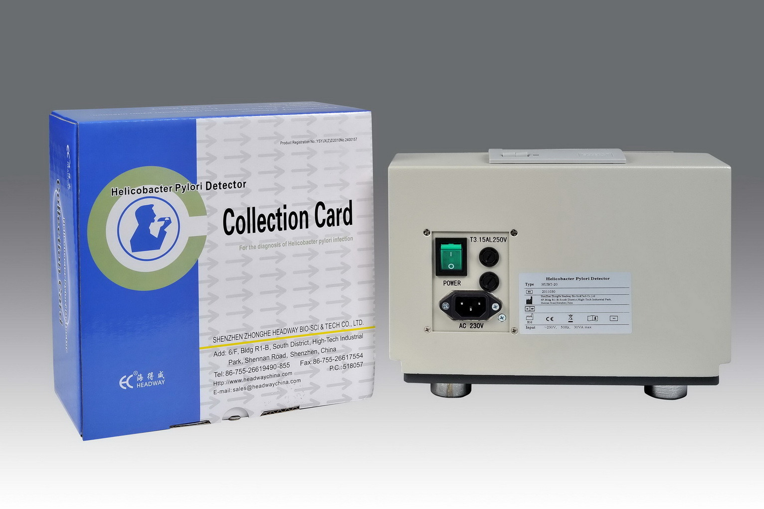 Diagnostic Equipment for H. Pylori (Helicobacter Pylori Detector/Tester) with CE Certification
