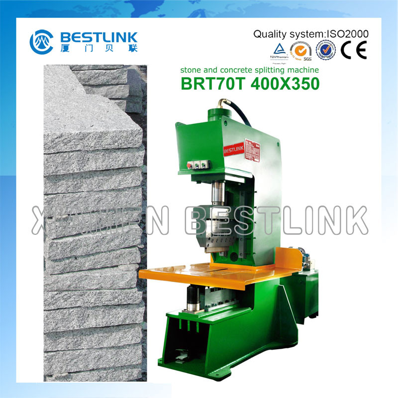 Hydraulic Stone Splitting /Cutting Machine for Curb/Kerb Stone