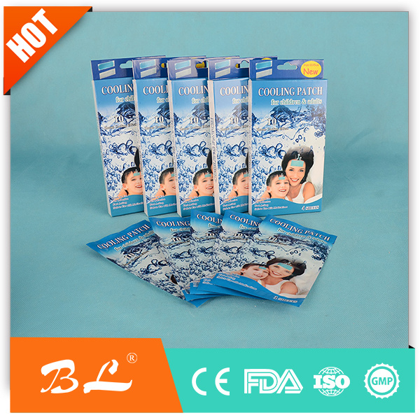 Health Care OEM Printing Cooling Gel Patch Cool Fever Patch