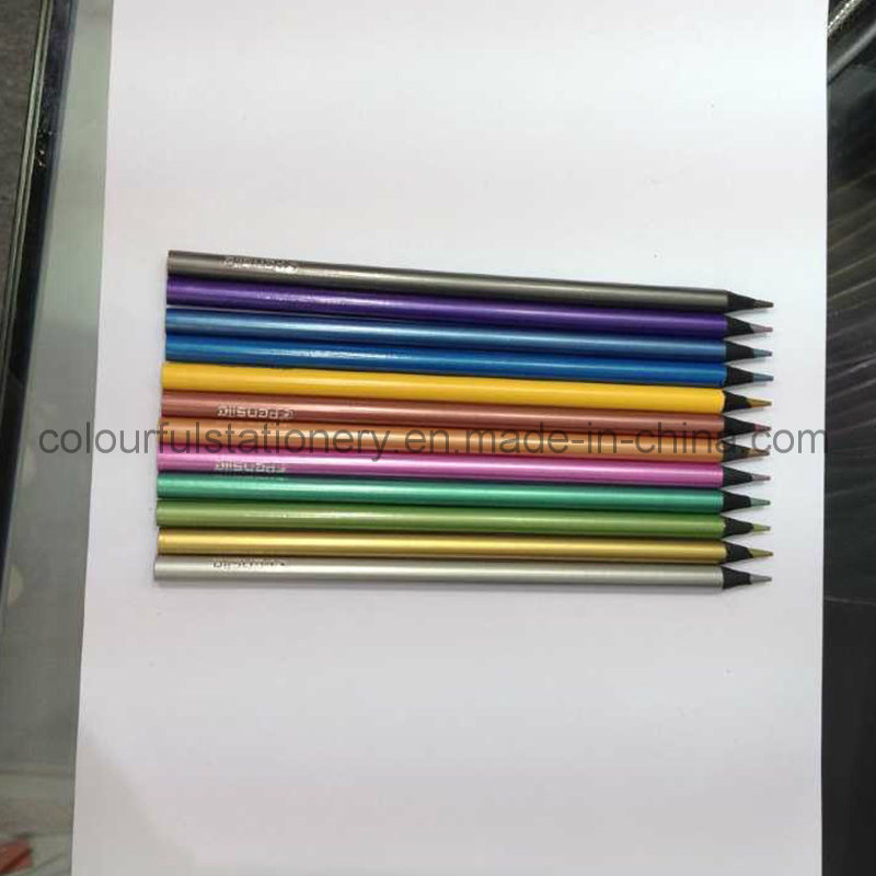 Black Wood Color Pencil Set