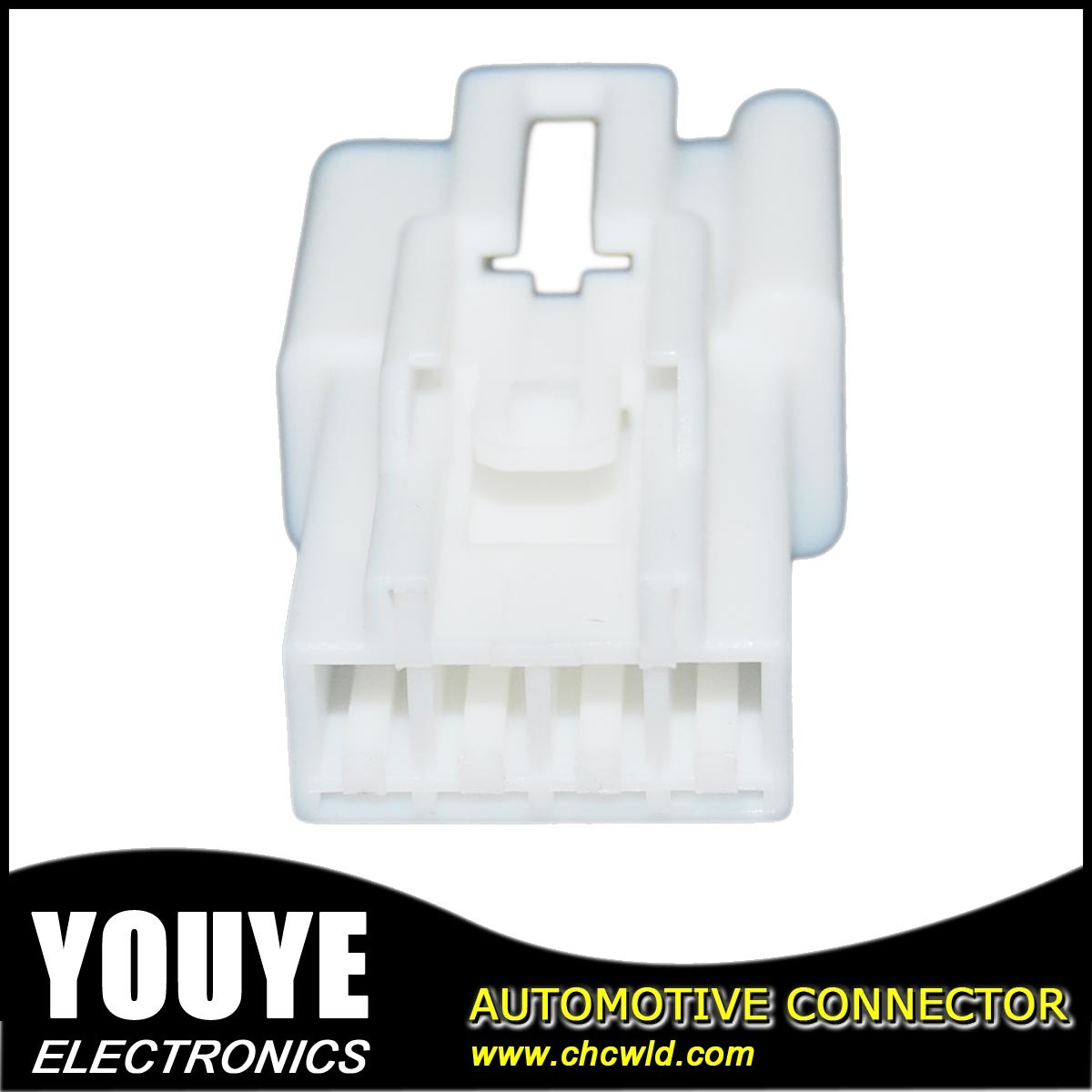 4 Poles PBT Plastic Automotive Connector Housing