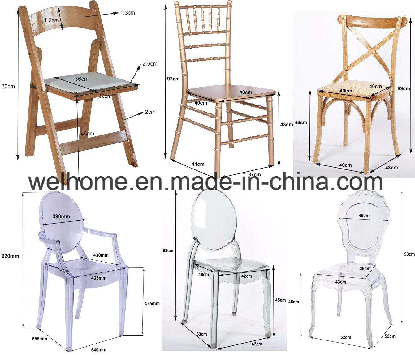 Cheap Banquet Chiavari Chairs
