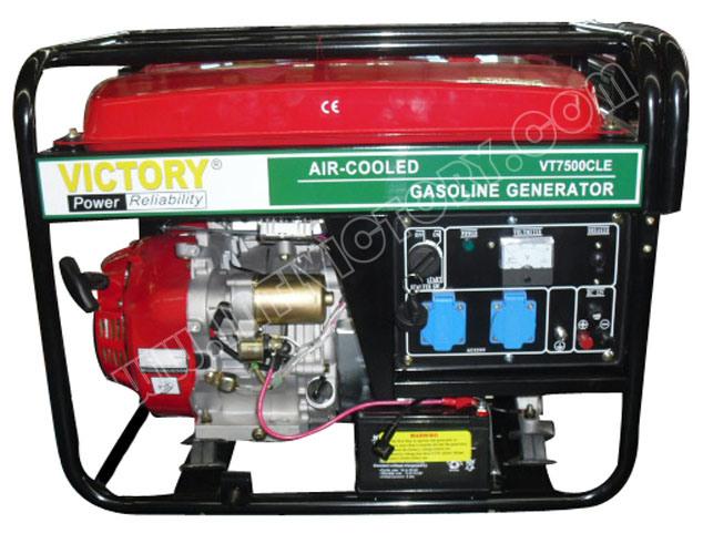 4kVA~7kVA Silent Petrol Portable Genset with CE/Soncap/Ciq Certifications