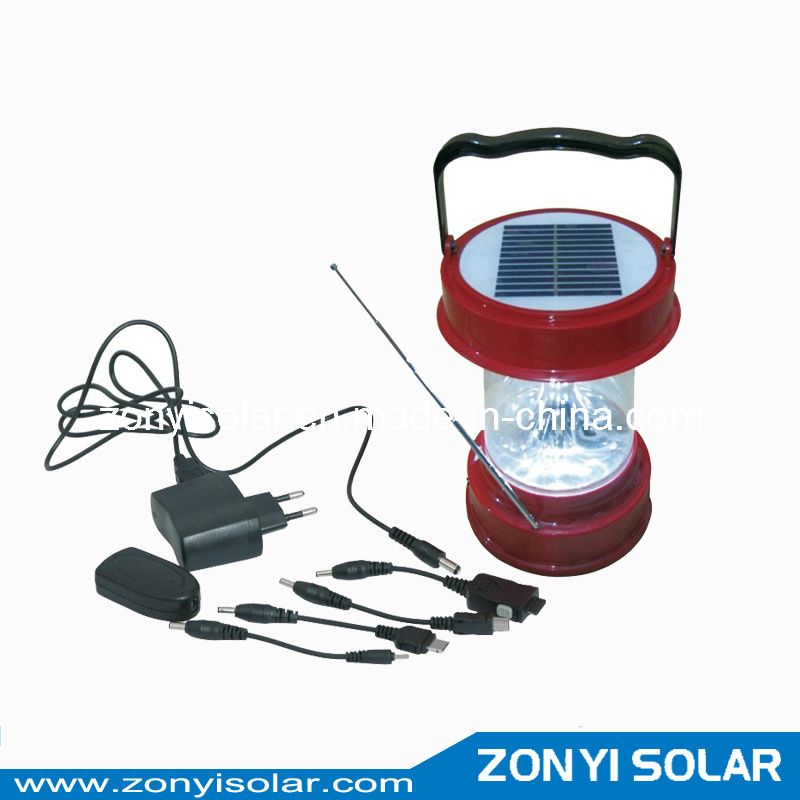 Solar Lantern Light with Radio and Mobile Charger