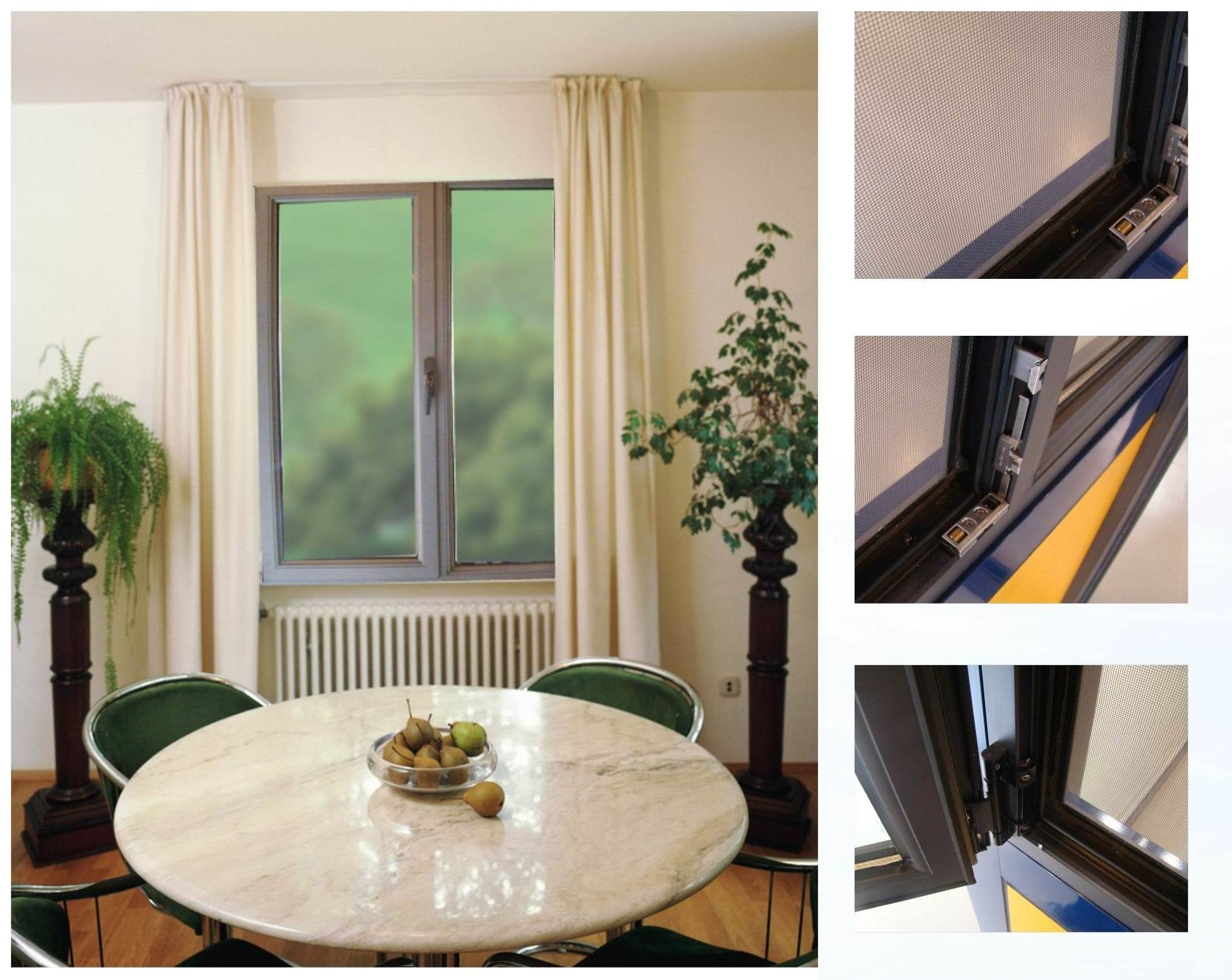 Aluminium Aluminum Casement Window (KPC49)