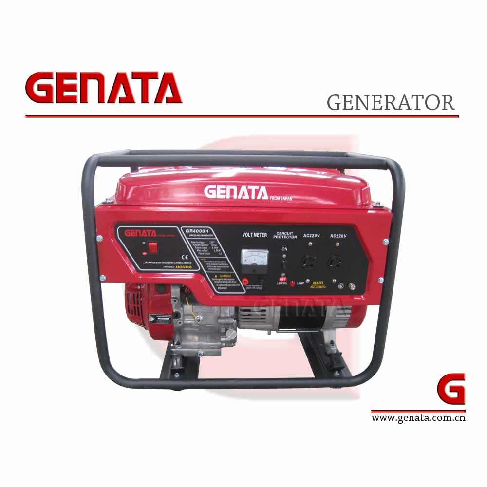 China Portable Gasoline 3kw Generator With Honda Engine